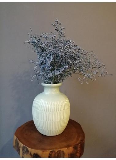 Kuru Çiçek Deposu Şoklanmış Mavi Deniz Otu(Tatarika) (Dökülme Yapmaz) ,Kuru Çiçek Mavi